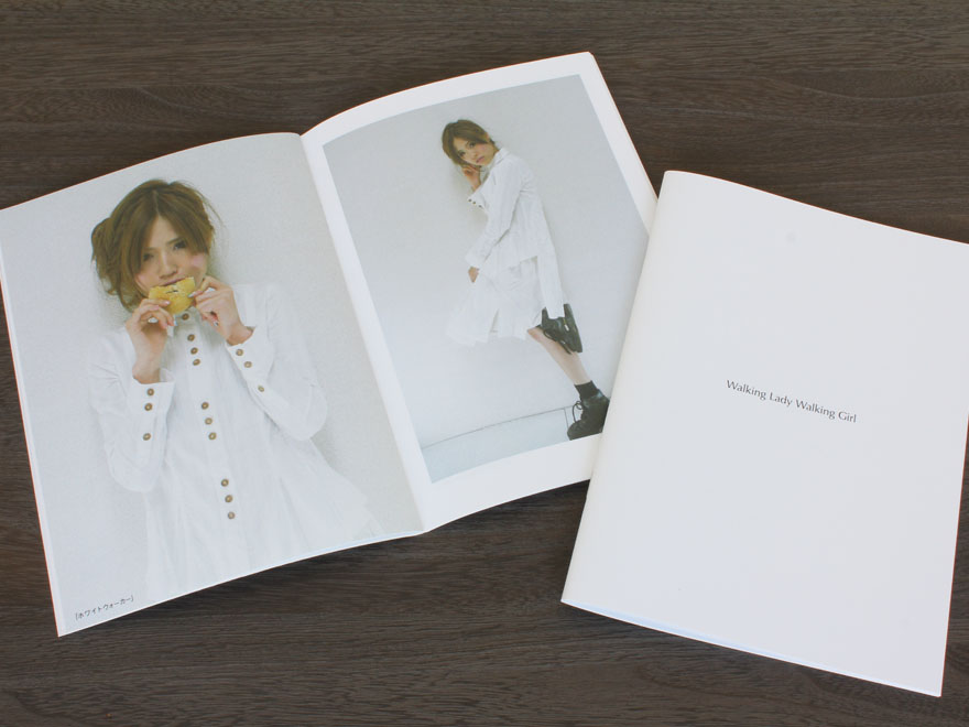 collection book「Walking Lady Walking Girl」