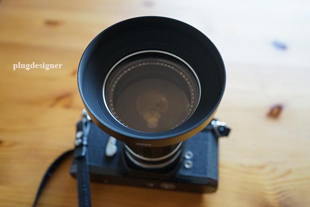Auto-Takumar 35mm f2.3のフィルターとフード