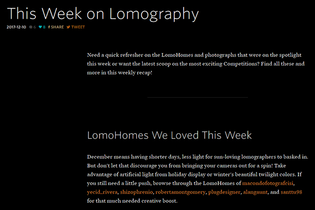 LomoHomes We Loved This Week.